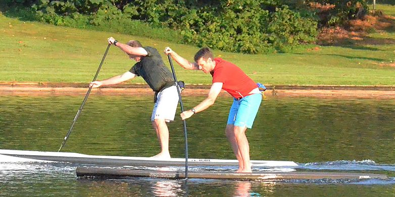 Stand Up Paddleboarding Suddenly Goes >> Standup Paddleboard Speed Tests Supvelocity Com